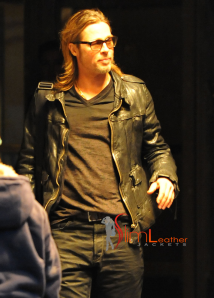 Brad-Pitt-Wearing-Leather-Jacket-NYC